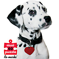 4-pack 60 piece Puppy puzzles