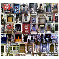 City Doors Puzzle - 750 pc