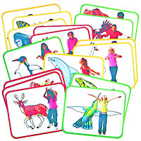 Roylco Body Poetry: Animal Action Cards
