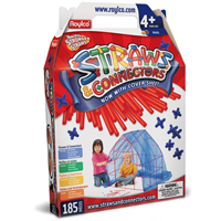 Straws and Connectors Structure Pack - 185 pc