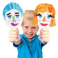 Paddle Puppets Portraits