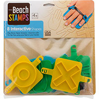 Beach Stamps - Interactive Shapes