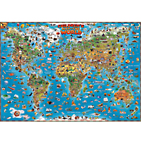 Dino's Illustrated Map of the World