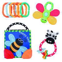 Rattle & Teether Gift Set
