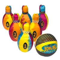Fun Gripper Yard Bowling Set