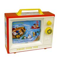 Retro Fisher Price Two Tune Television