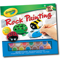 Crayola Artist Studio - Rock Painting
