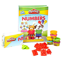 Play-Doh Let's Create Numbers