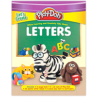 Play-Doh Let's Create Letters