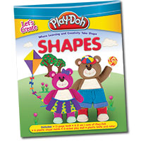 Play-Doh Let's Create Shapes