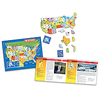 Jigsaw Journey - The 50 States