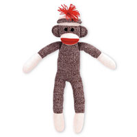Sock Monkey Stuffed Toy