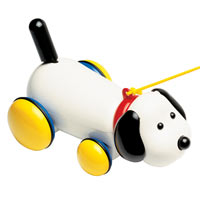 Ambi Toys Max Pull Along Dog