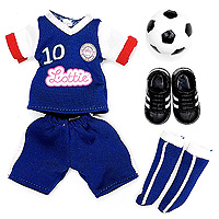 Lottie Girls United Soccer Outfit
