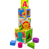 Fisher-Price My First Stacking Blocks Shape Sorters