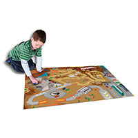 Hot Wheels Mat