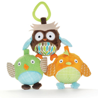 Treetop Friends Owl & Friends Ball Trio