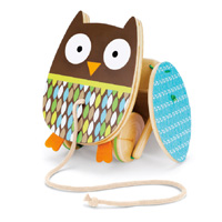 Treetop Owl Pull Toy