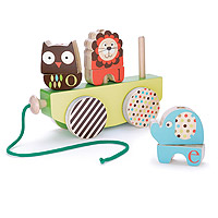 Alphabet Zoo Rock & Stack Pull Toy