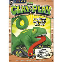 Clay Play Lizard