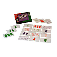 SET Family Game of Visual Perception