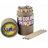36 Color Pencils