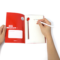 Notebook & Pencil