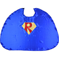 Custom Superhero Cape - Primary Colors