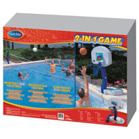 2-in-1 Pool Sports Games