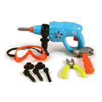 Little Handyman's Power Drill Tool Set