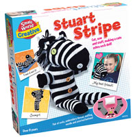 Stuart Stripe Sock Zebra Kit