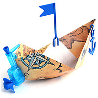 PowerUp Paper Boat Conversion Kit