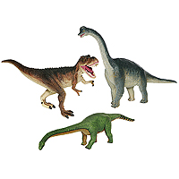 4D Dinosaur Puzzle Set of 3