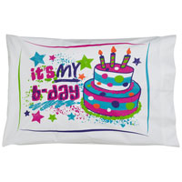 Birthday Autograph Pillowcase