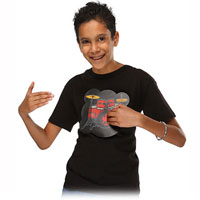 Kids Electronic Drum Kit Shirt