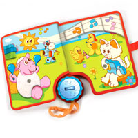 Animal Concert Touch & Discover Book
