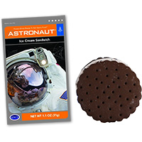 Astronaut Space Food - Ice Cream Sandwich