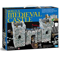 Brick n Build Medieval Castle Building Kit