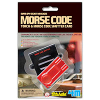 4M Super Spy Secret Messages Morse Code