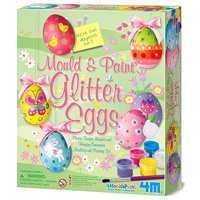 4M Mold & Paint Glitter Eggs