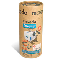 Makedo FreePlay Kit for Three - 165 pc