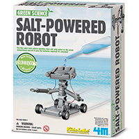 4M Salt Water Power Robot