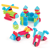 Battat Bristle Blocks Basic - 112 pc