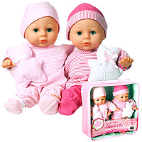 My Sweet Baby Lovable Twins - 11 inch