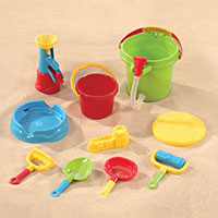 Sand & Water Bucket Set