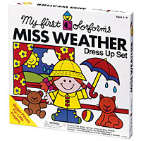 Miss Weather Dress-Up Set