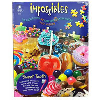Sweet Tooth Impossible Puzzle - 750 pc