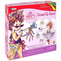 Colorforms Fancy Nancy Dress Up Stick-Ons Game