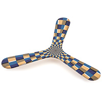 Handcrafted Boomerang