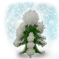 Crystal Growing Trees